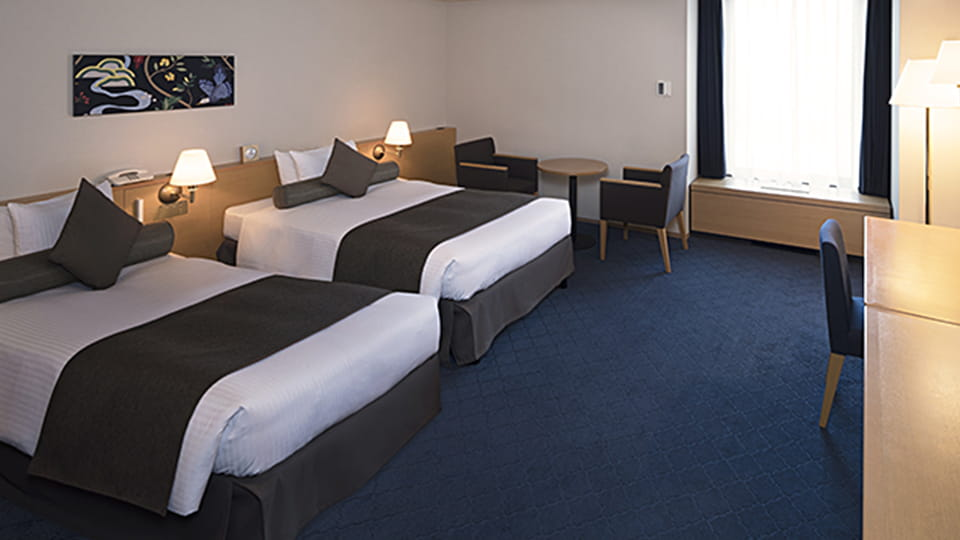 Comfort Large Twin Room - No Smoking (Separate Bath and Toilet)